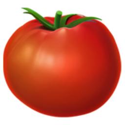 Tomato Emoji (U+1F345).