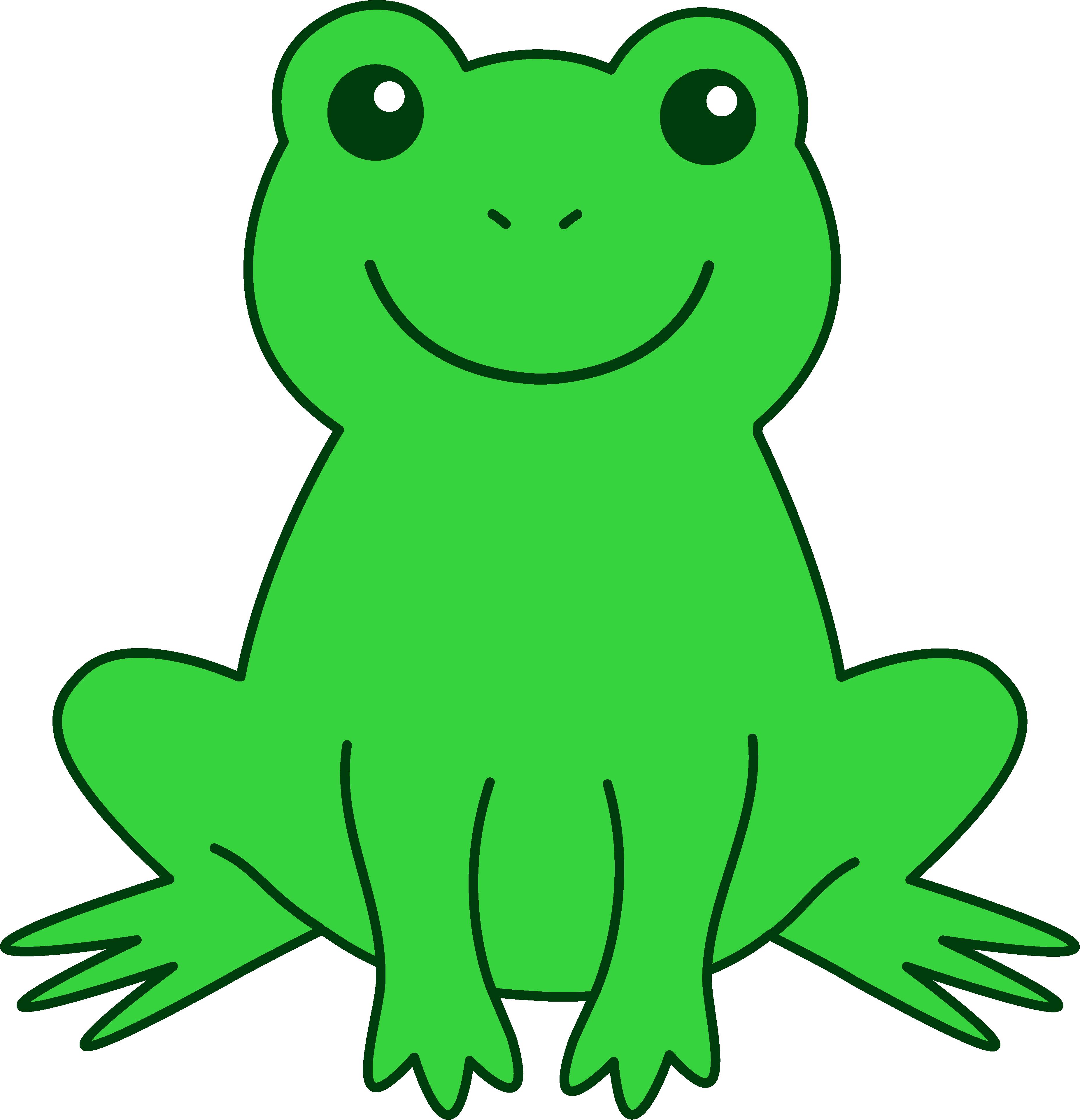 Tomato Frog Clip Art.