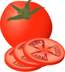 Clipart images of tomato.