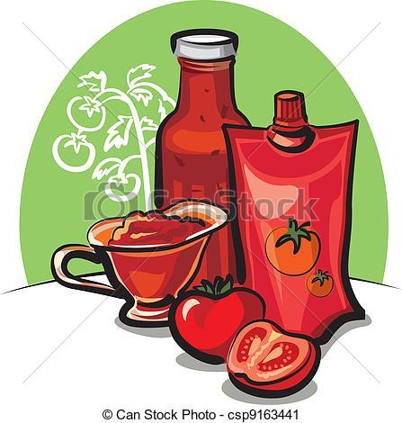 Tomato sauce Clip Art Vector and Illustration. 4,015 Tomato sauce.