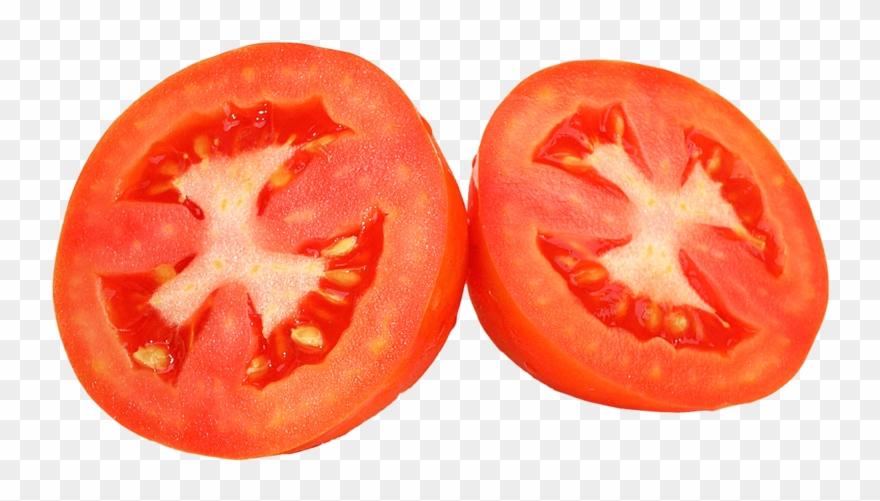 This Png File Is About Slices , Tomato , Vegetables Clipart.