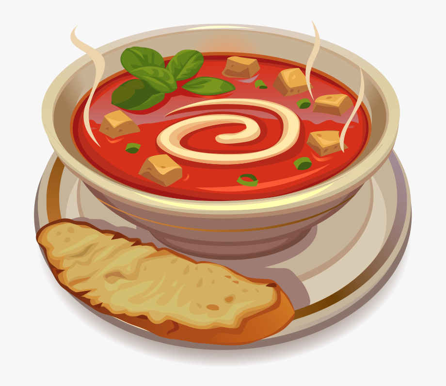 Png Royalty Free Stock Tomato Soup Clipart.