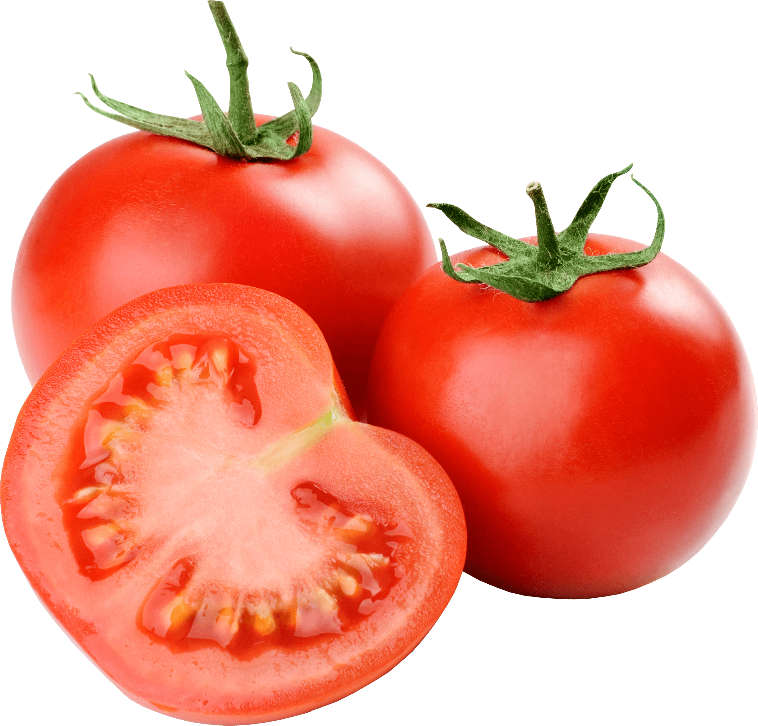 Group Of Tomatoes transparent PNG.