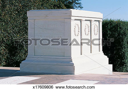 Stock Images of Tomb of the Unknown Soldier, Washington, DC, USA.
