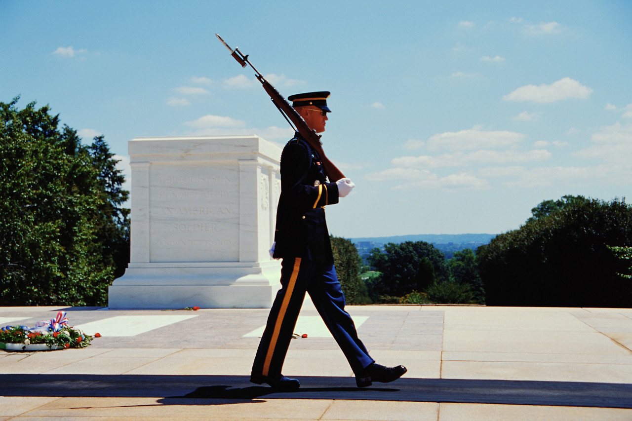 The Unknown Soldier.