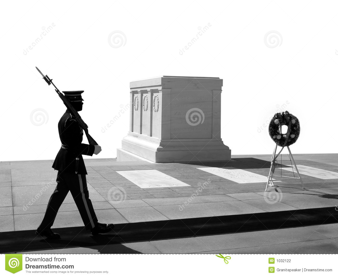 Tomb Of The Unknown Soldier, Arlington National Cemetery Royalty.