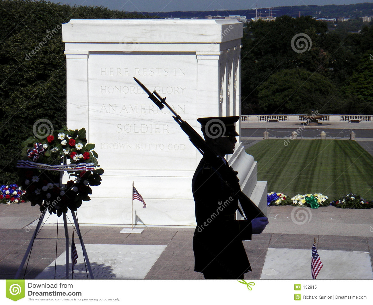 Tomb Of The Unknown Soldier Editorial Image.