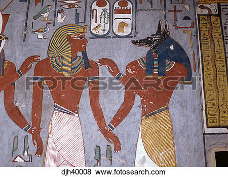 Pictures of Egypt, Luxor, Valley of the Kings, Ramses 1 Tomb.