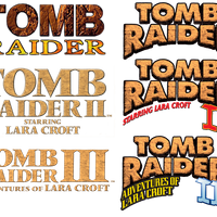 Tomb Raider HQ Logos by John.