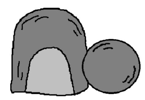 Clipart jesus tomb.