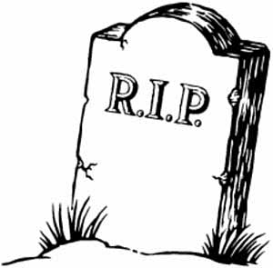 Tombstone clipart free.