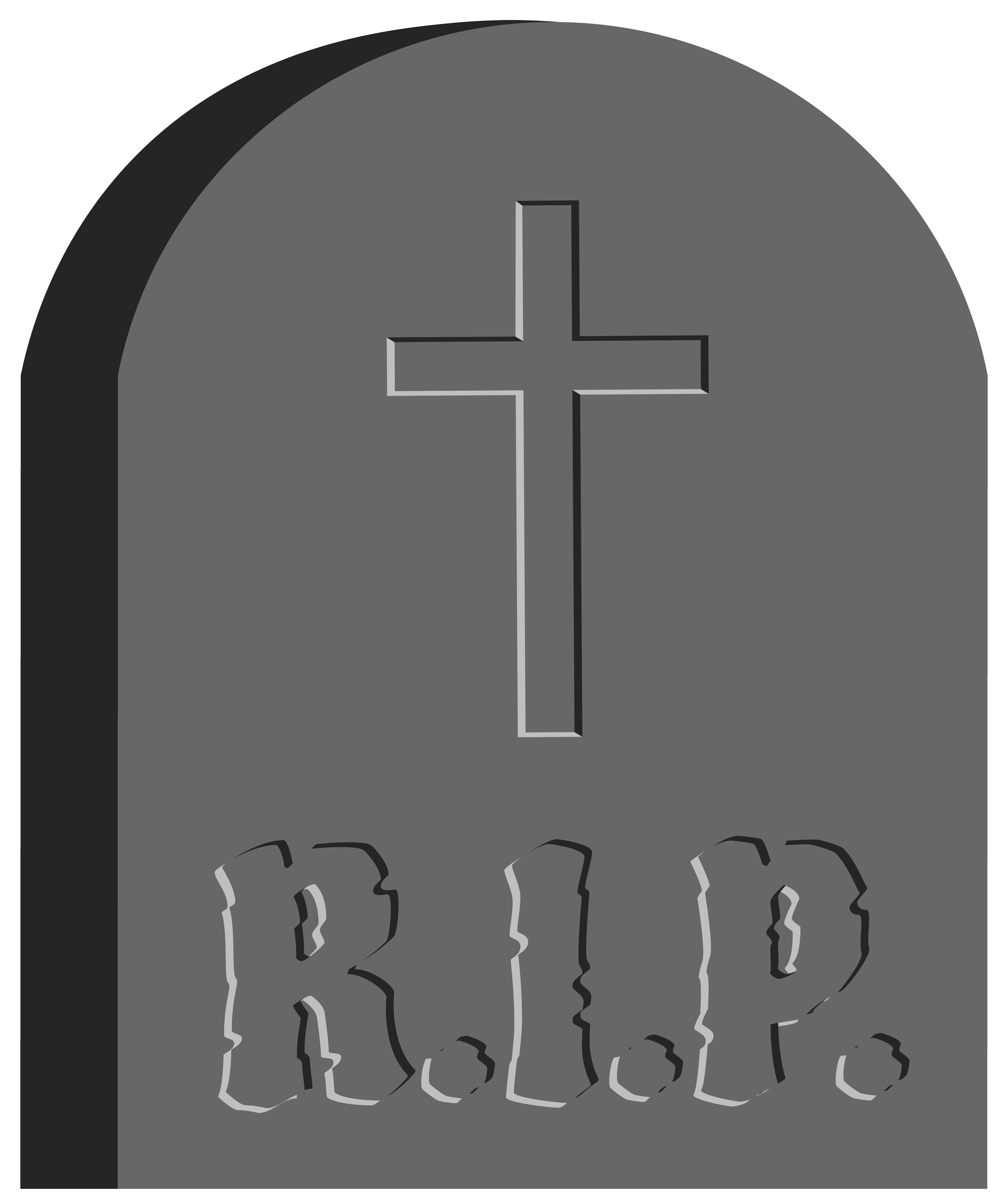 Tombstone Clipart on Rip Clip Art