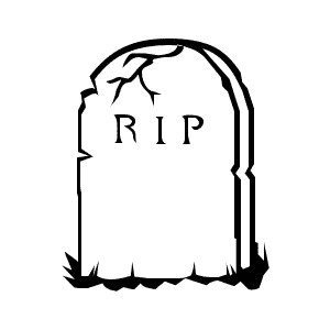 Blank Tombstone Clipart.