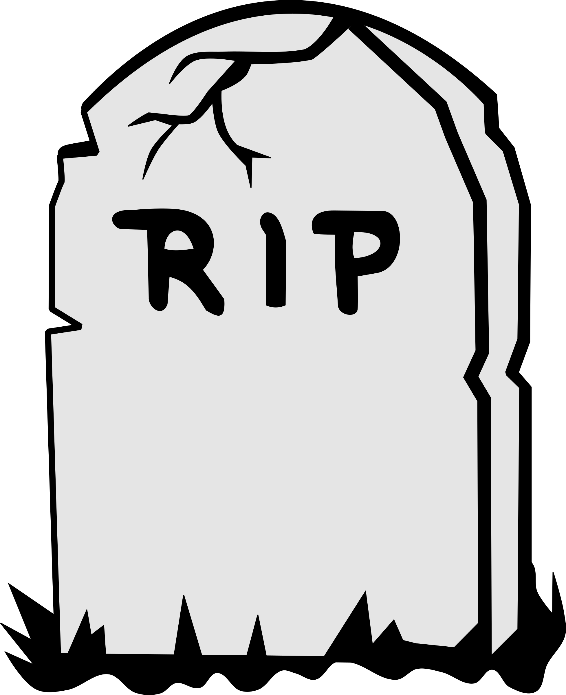 Tombstone rip clipart transparent background.