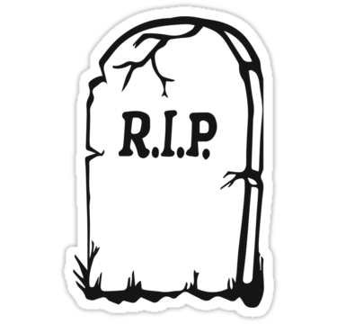 Free Tombstone Clipart Black And White.