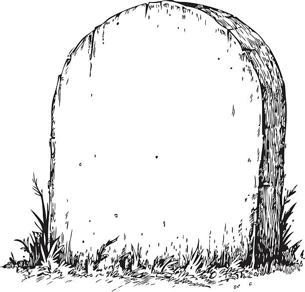 Tombstone clipart black and white 4 » Clipart Station.