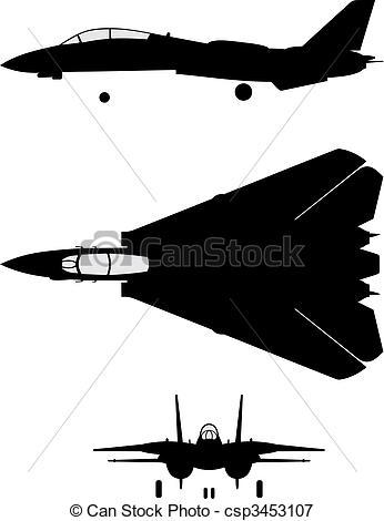 F 14 Tomcat Clipart.