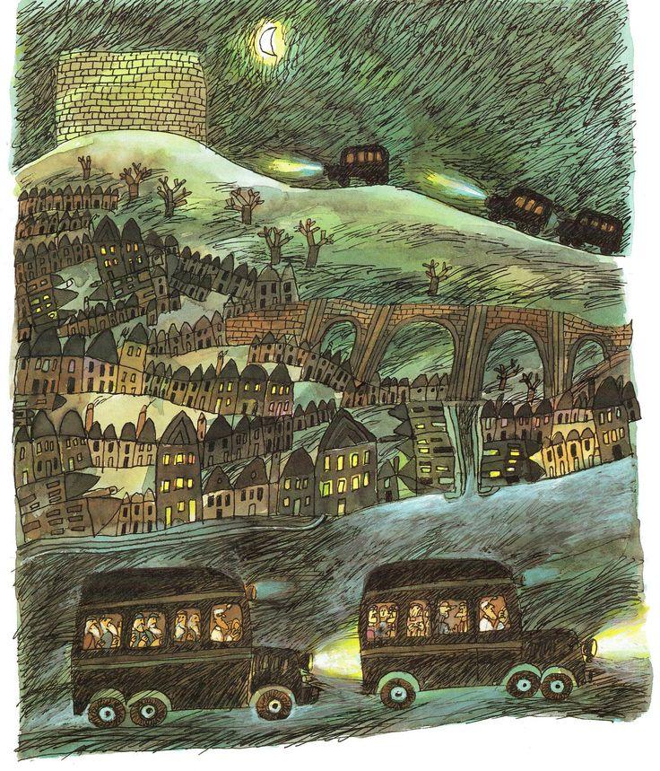 1000+ images about Art: Illustration: Land & shelter on Pinterest.