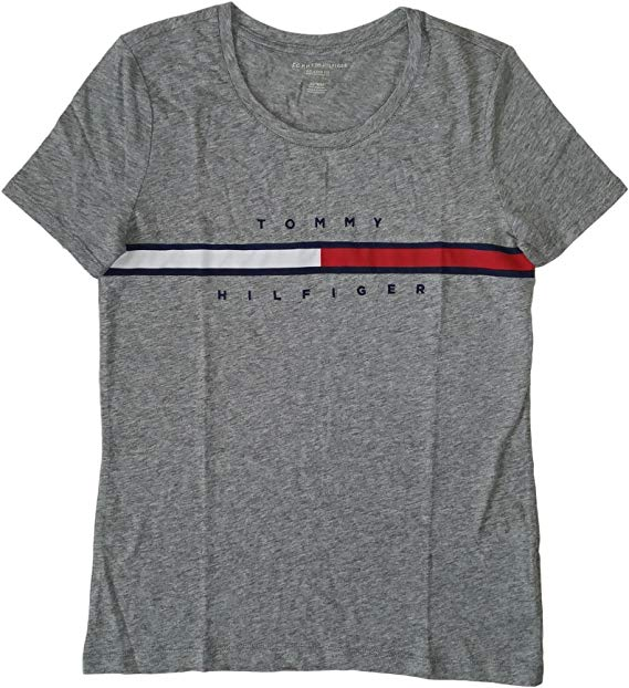 Tommy Hilfiger Women\'s Big Logo Line T.