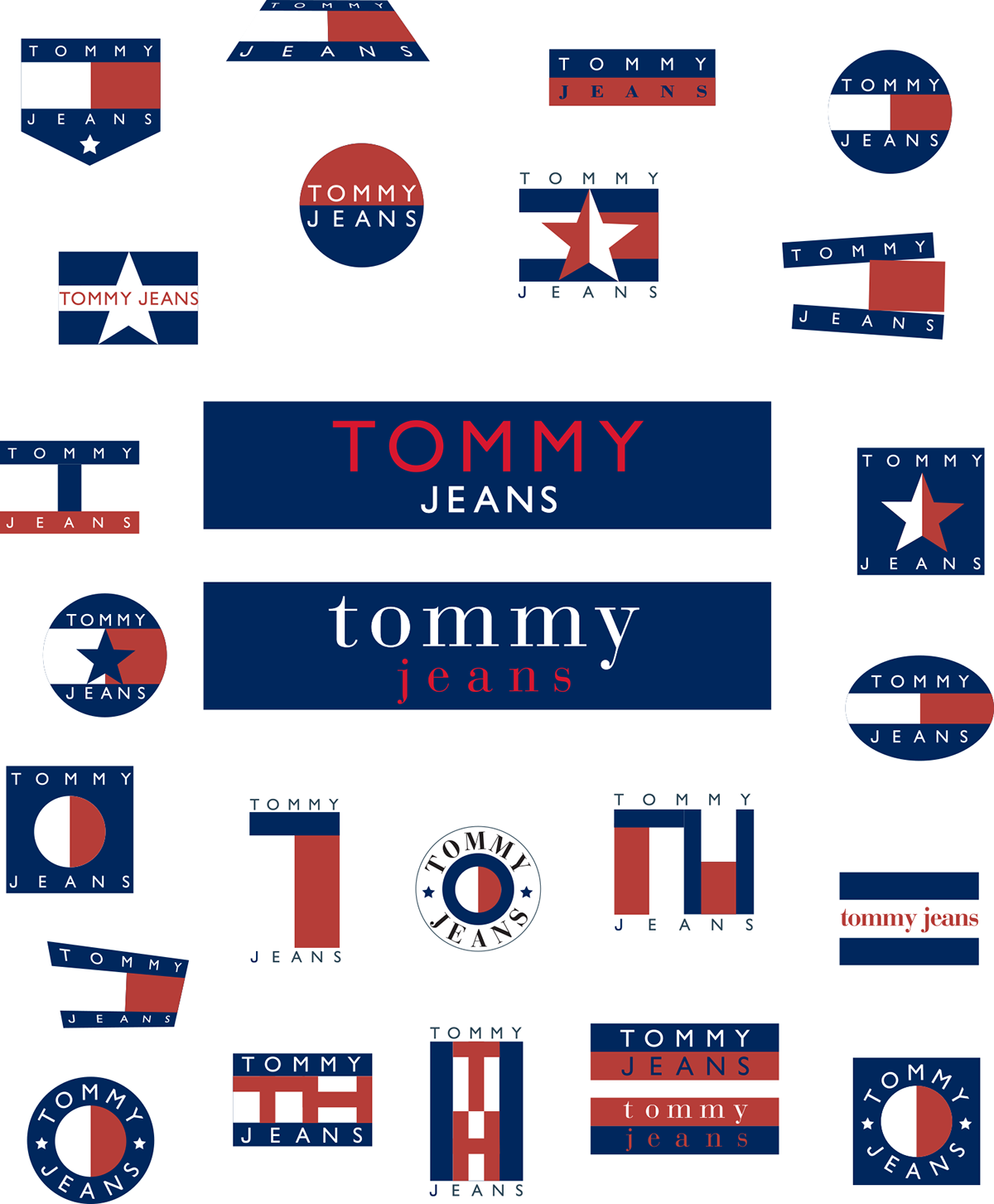 Tommy Jeans logo on Behance.