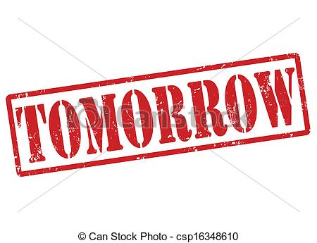 Tomorrow Clip Art.