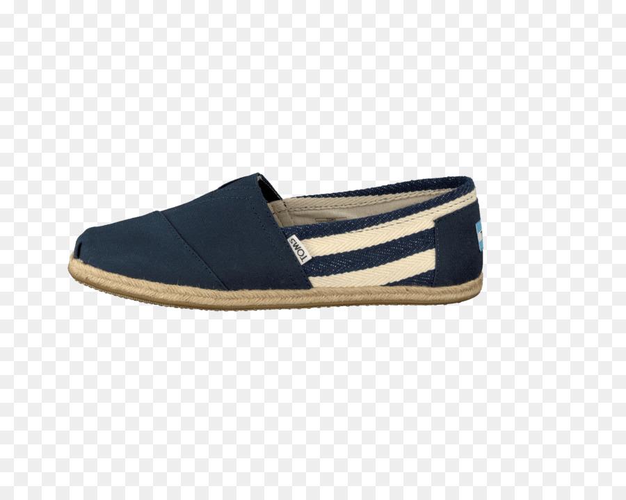 Toms Shoes Navy Espadrille Slip.