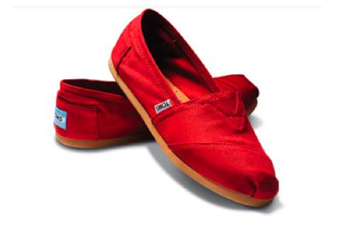 belajarlagi1: Toms Shoes Tomorrow.