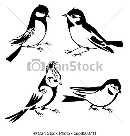 Tomtit Clip Art Vector and Illustration. 375 Tomtit clipart vector.