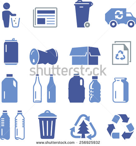 Recycling Bottles Stock Photos, Royalty.