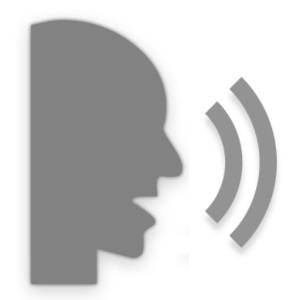 Tone of voice clipart.