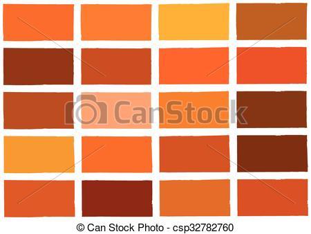 Clip Art Vector of Orange Tone Color Shade Background Illustration.