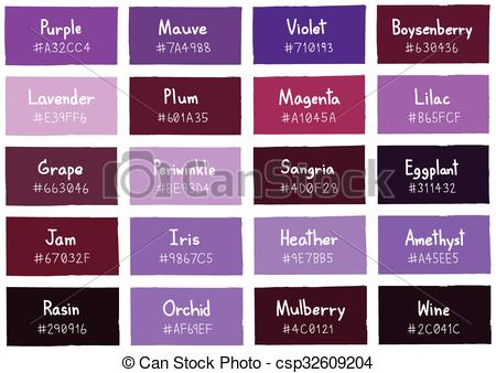 Vector Clipart of Purple Tone Color Shade Background with Code and.