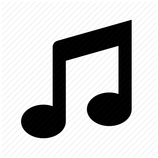 Key, music, note, song, tone icon.