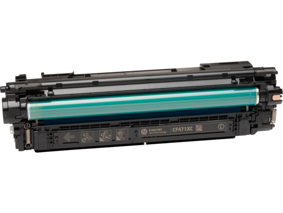 HP 657X High Yield Cyan Original LaserJet Toner Cartridge, CF471X.