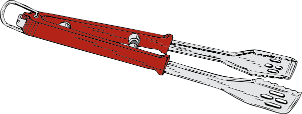 Blacksmith Tong Clipart.