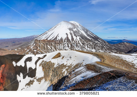 Ngauruhoe Stock Photos, Royalty.