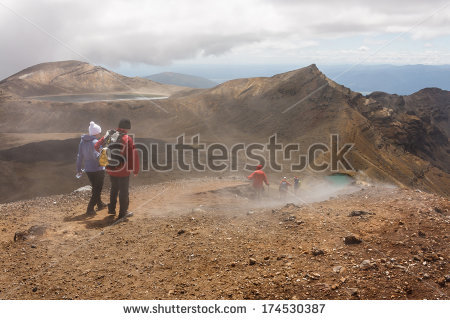 """tongariro Crossing"" Stock Photos, Royalty."