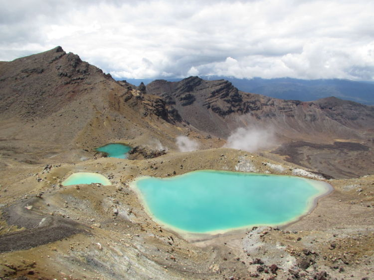 Tongariro Crossing.