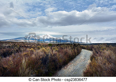 Picture of Tongariro National Park.