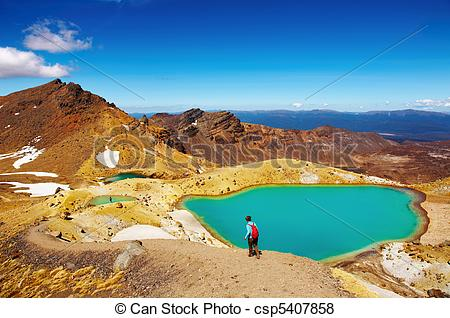Pictures of Tongariro National Park, New Zealand.