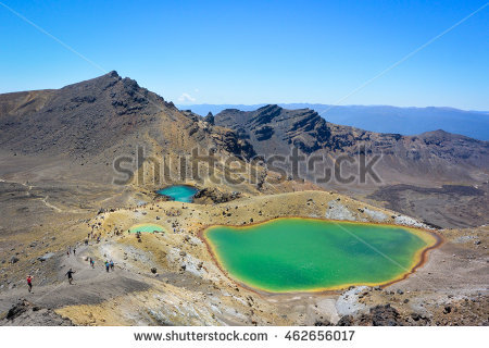 Tongariro Stock Images, Royalty.