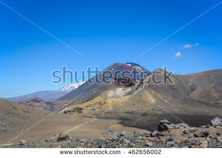 Mount Tongariro Stock Photos, Royalty.
