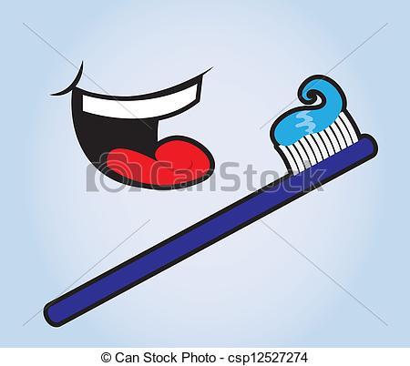 Vectors Illustration of Teeth Brush.