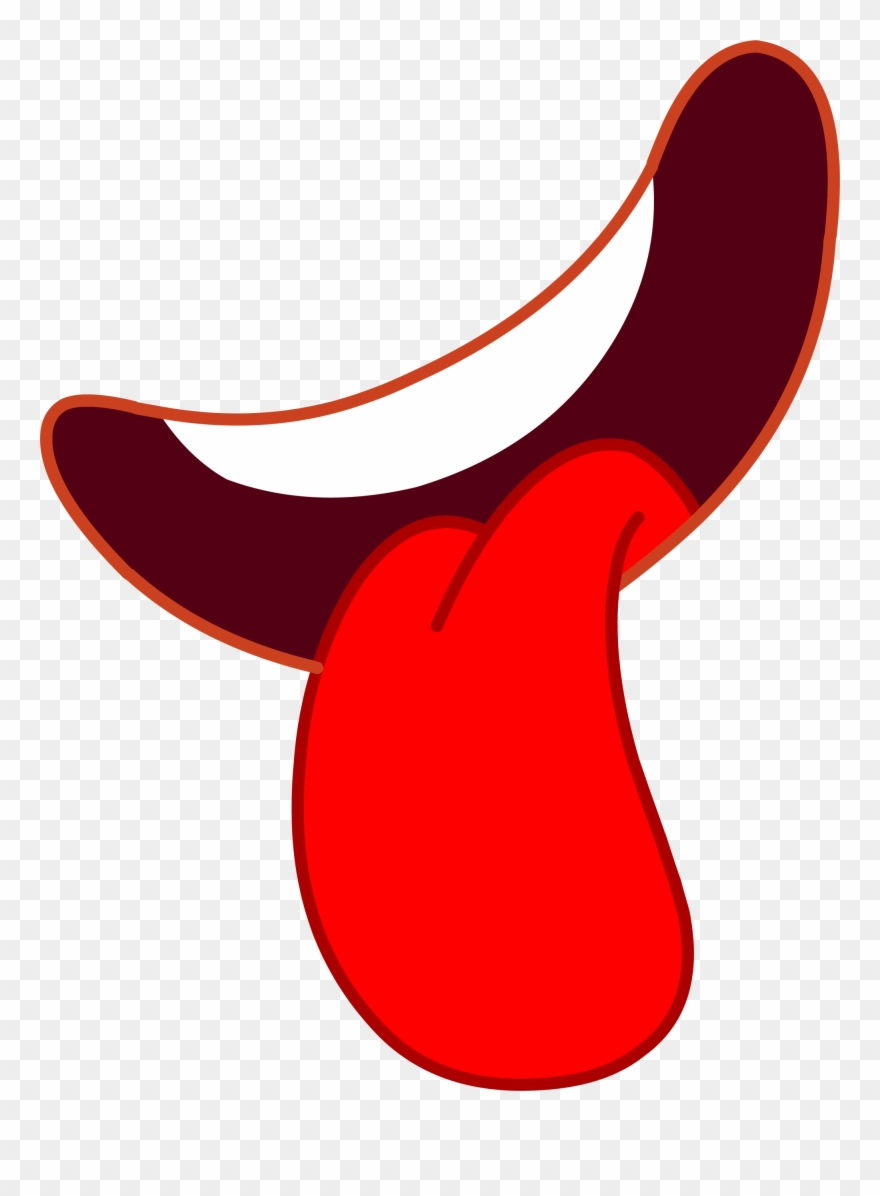 Cartoon Tongue Png.
