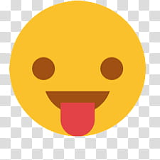 New Emojis, tongue out emoji transparent background PNG.