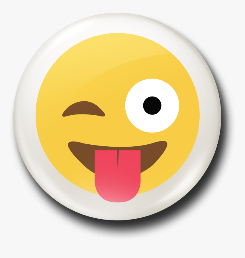 Emoji Tongue Out Png Clipart.