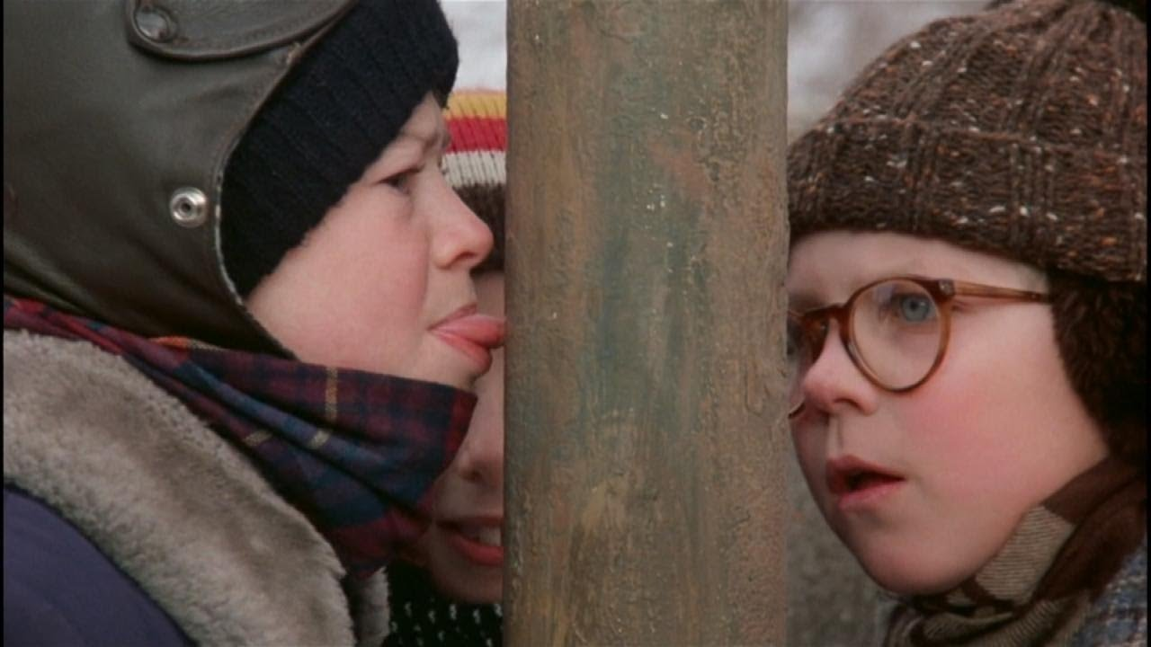 How to Remove Your Tongue From a Frozen Pole Like in 'A Christmas Story'.
