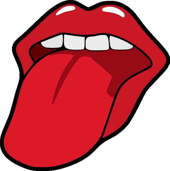 Tongue Clipart.