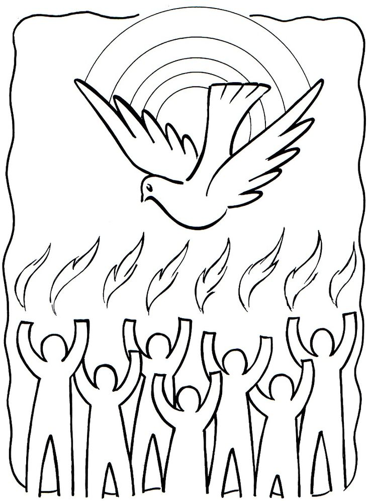 113 Pentecost free clipart.