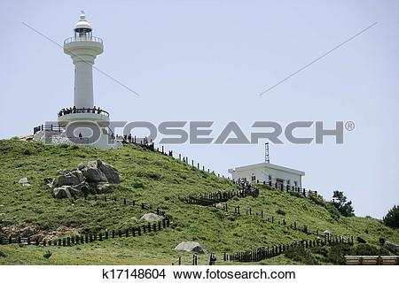 Stock Photo of Beautiful landscape in South Korea,Tongyeong.